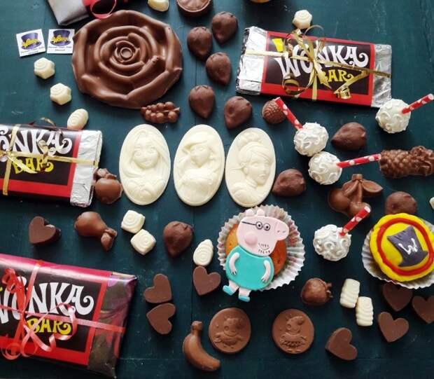 Шоколад от Вилли Вонки