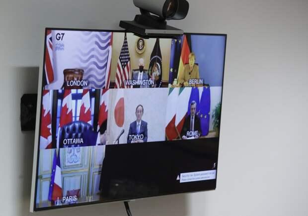 Страны G7 потребовали от России «прекратить провокации» против Украины