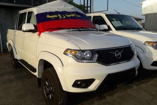 В Иране начали продавать еще одну модель УАЗ