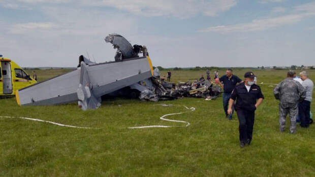 Число погибших в крушении самолета L-410в Кузбассе возросло до девяти