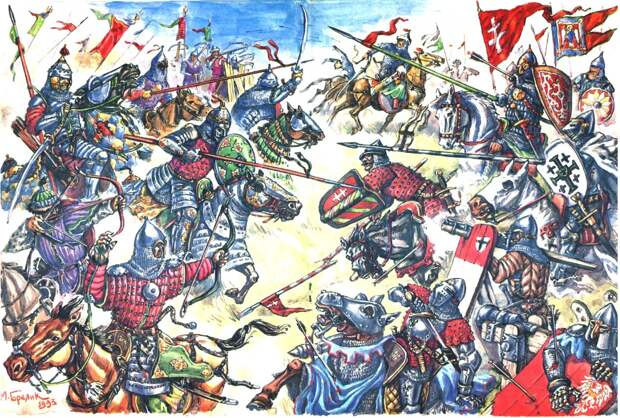 Разведопрос: Клим Жуков про битву на Ворскле 1399 года