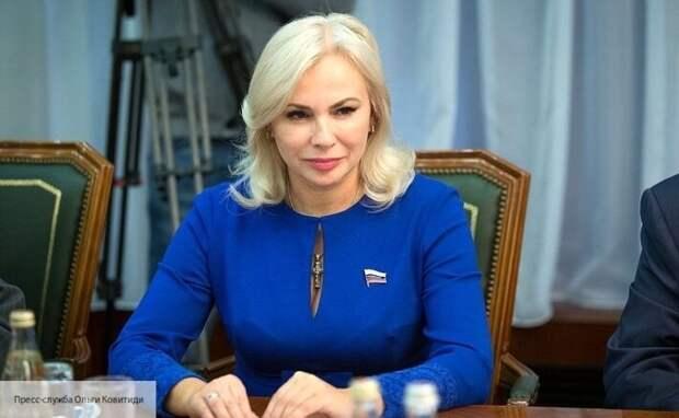 Ковитиди рассказала, как Россия решила проблему с водоснабжением Крыма