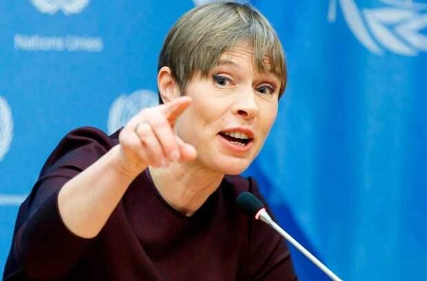 Кальюлайд высказала Украине мнение о ней Запада