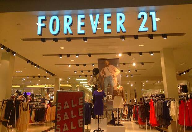 Бренд одежды Forever 21 заявил о банкротстве
