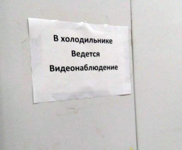 Видео наблюдение по-русски, или Забавные примеры слежки за своими же