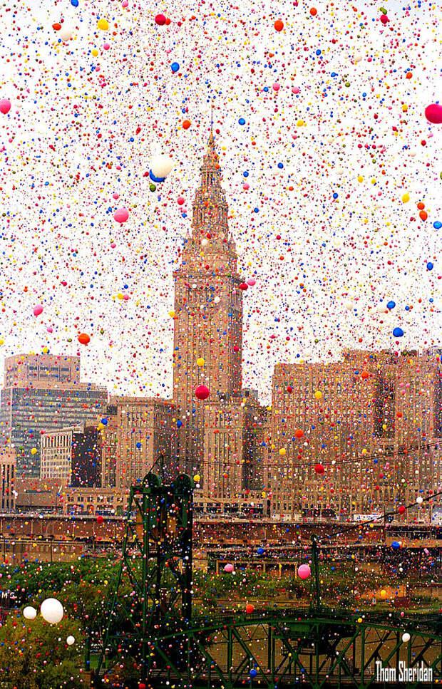 В 1986 году на Кливленд напали… шарики