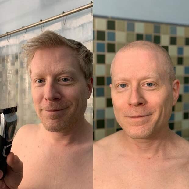 Почему на карантине многие бреются налысо?