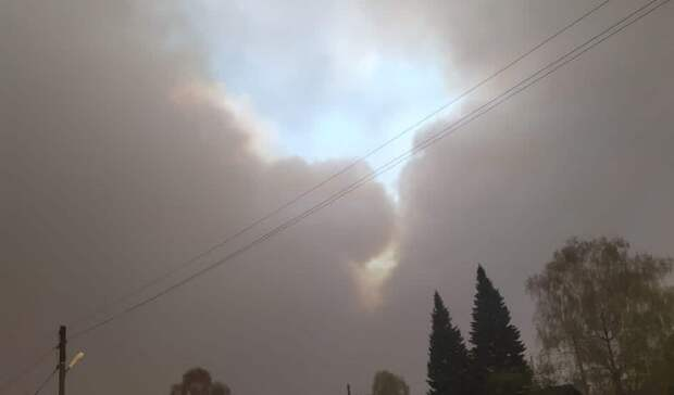Жители Юргинского района жалуются надым отпожаров