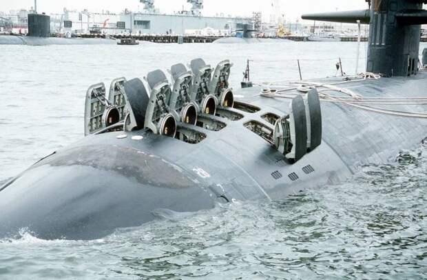 Полноценные ЗРК на подводной лодке