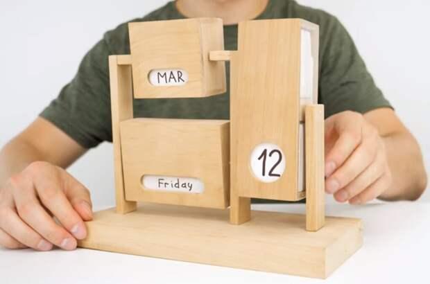 Очень необычный, практичный и креативный календарь. Такого точно ни у кого нет