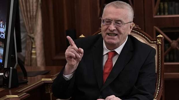 Жириновский предложил разделить Украину на две страны
