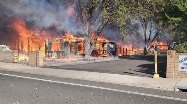 Число погибших в лесных пожарах в США достигло 35 человек, десятки пропали без вести