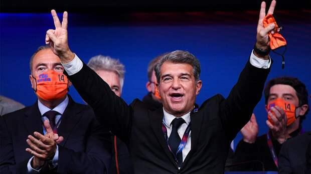 «Барселона» входит в новую эру. Лапорта – новый президент, и теперь Месси вряд ли покинет родной клуб