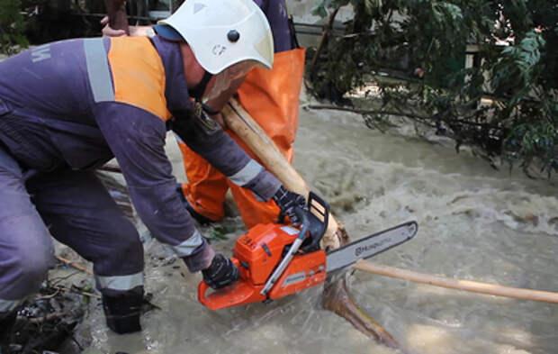 В Крыму продолжается ликвидация последствий наводнения