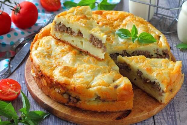 Заливной пирог с печенью. Кормим семью вкусно, сытно и недорого.