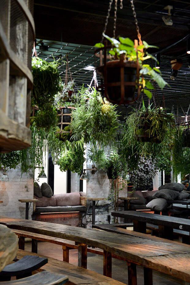 Интерьеры самых красивых ресторанов Москвы ✦