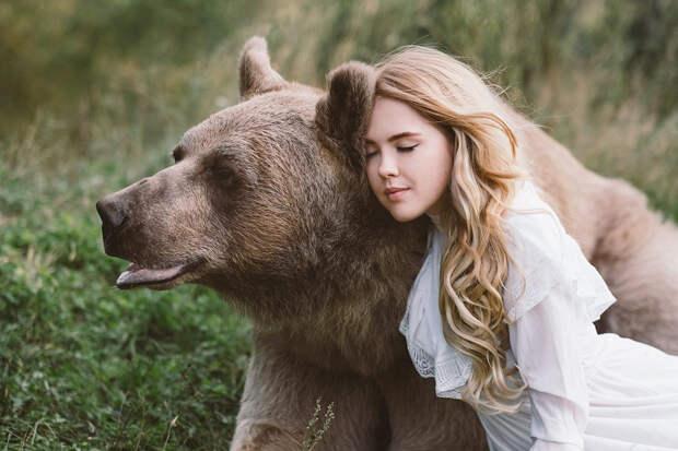 Фотограф Ольга Баранцева. Фотосессии с дикими животными и творческие портреты 7