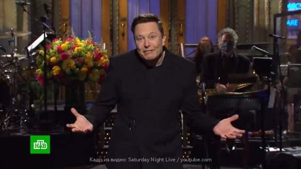 На Илона Маска обрушился шквал критики за участие в юмористическом шоу