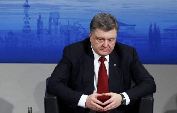Порошенко обвинил Россию в краже украинского газа