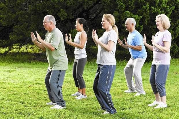 Пенсионеры из Останкина займутся гимнастикой для мозга на свежем воздухе