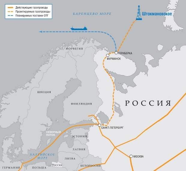 Газпром Штокмановское ГКМ