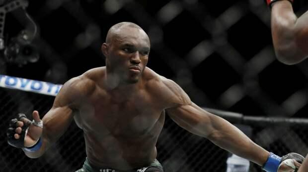 Усман — Бернс. Лучшие моменты главного боя UFC 258