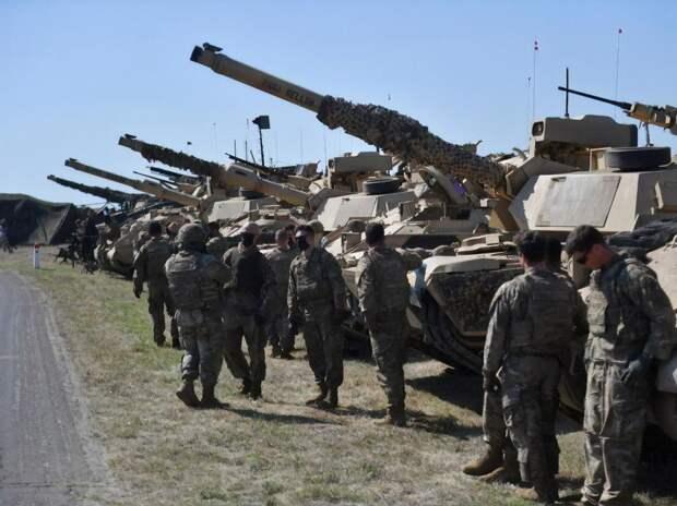Беларусь заявила о переброске к своим границам танкового батальона США