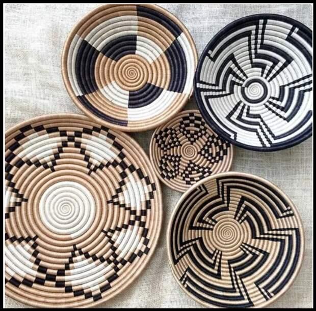 Шикарные декоративные тарелки для интерьера - показываю как сделать своими руками