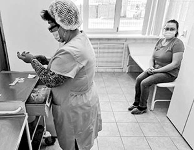 Первая вакцинация от коронавируса. Поселок Переяславка, район имени Лазо, Хабаровский край