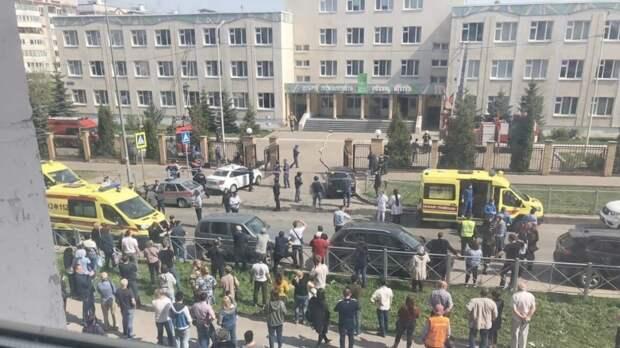 Кравцов оценил действия сотрудников школы в Казани в ходе стрельбы