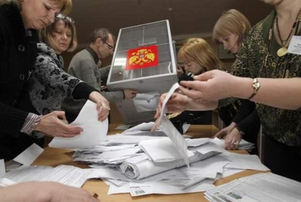 Выборы в Госдуму: после подсчета 40% голосов определилась лидирующая партия