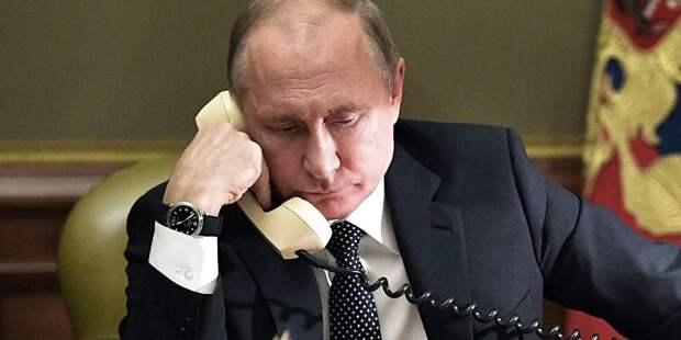 Путин и лидер Кубы поговорили о борьбе с пандемией