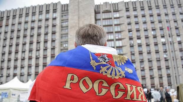 Опрос: более половины россиян считают свою страну развитой и передовой