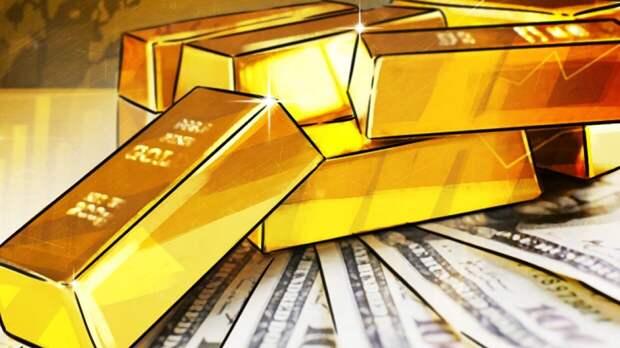 Сокращение производства золота зафиксировано в России