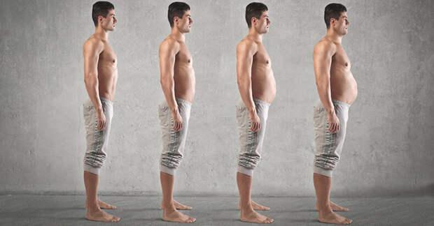 Висцеральный жир - источник проблем у мужчин