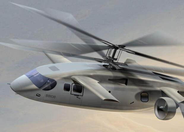 AVX Aircraft представила проект скоростного многоцелевого винтокрыла