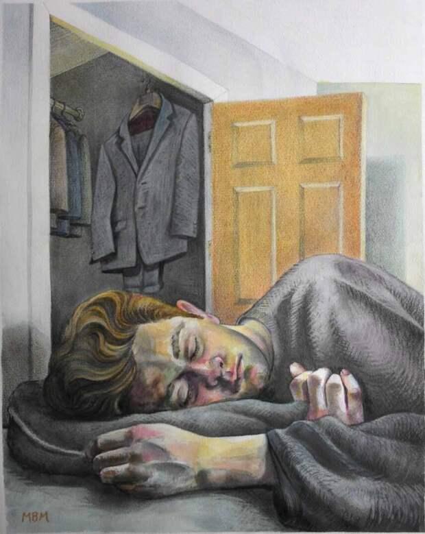 Шотландский художник. Mark Mulholland