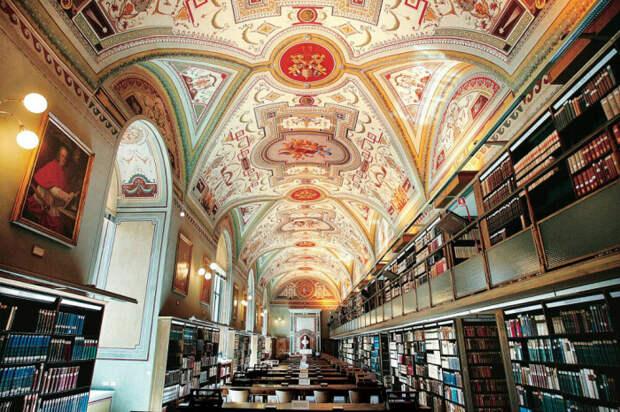 Библиотека Ватикана. /Фото источник: be-traveller.ru