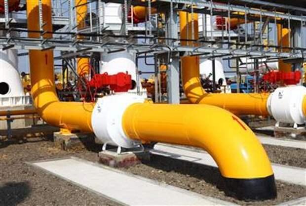 Запасы природного газа в хранилищах Европы