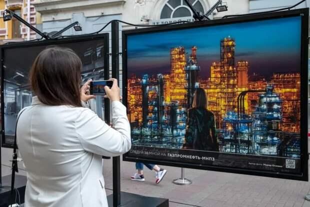 В Москве открылась выставка о столичной промышленности. Фото: Татьяна Мастерова