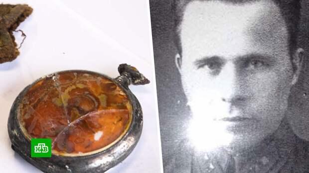 Карманные часы и тест ДНК помогли найти родных погибшего в Латвии красноармейца