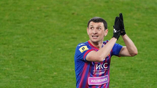 Олич оценил игру Дзагоева в матче с «Краснодаром»