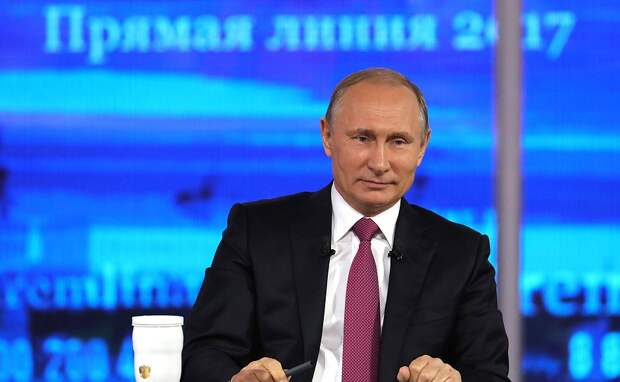 Стала известна дата «прямой линии» с Путиным