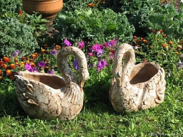 Забавные скульптуры для сада: веселые идеи для вдохновения 2