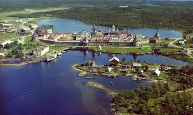 Соловецкие острова и монастырь