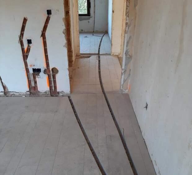 Чем опасно штробление стен под проводку