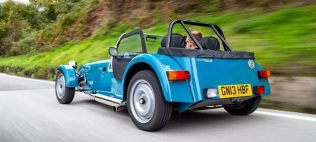 7) Caterham Seven 160 авто, история, факты
