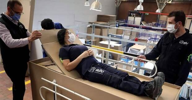 Легким движением руки кровать превращается… вгроб для пациентов, умерших откоронавируса