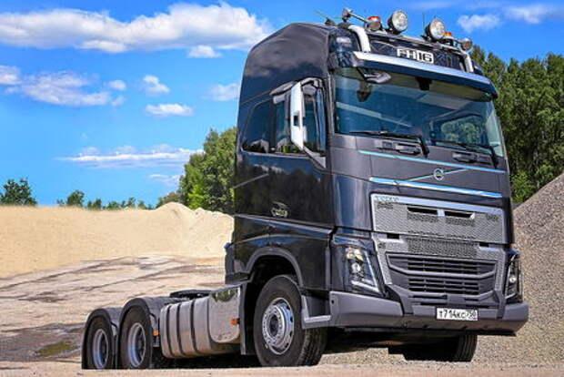 Новый тягач Volvo FH16: под конкретные задачи