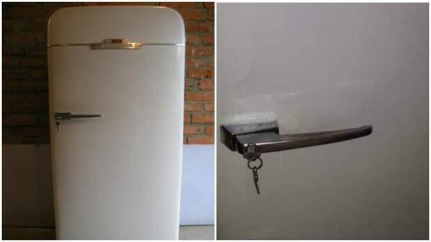 Зачем в СССР выпускали холодильники с замком